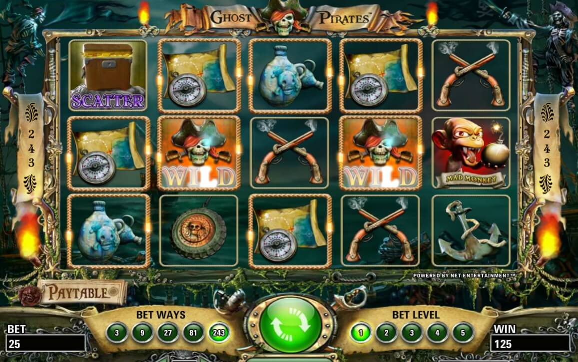 Ghost Pirates Slot Review & Free Instant Play Casino Game