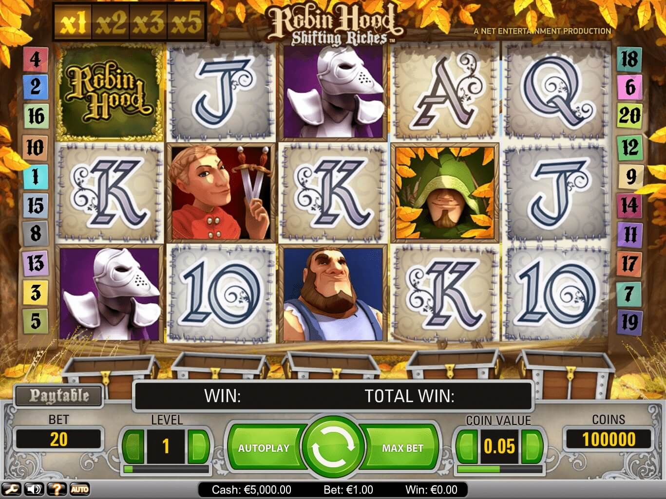 robin hood slot netent shifting riches bonus
